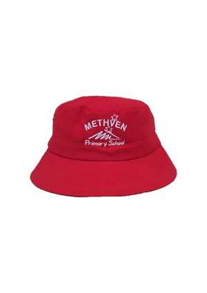 Methven Primary Bucket Hat Red